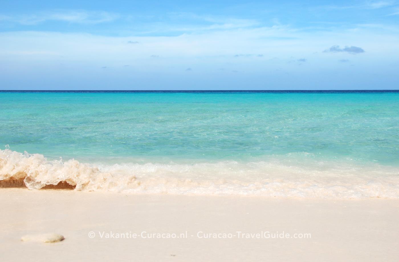Achtergrond van Vakantie Curacao