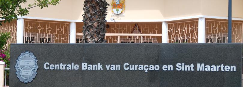 Antilliaanse Gulden bij de Centrale Bank van Curacao en Sint Maarten