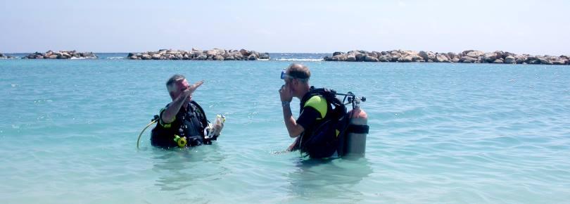 Duiklessen en duikcursussen  bij de beter duikscholen