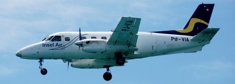 Curacao - Landing van Insel Air