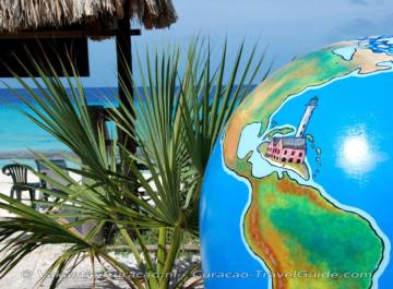 Ligging Klein Curacao